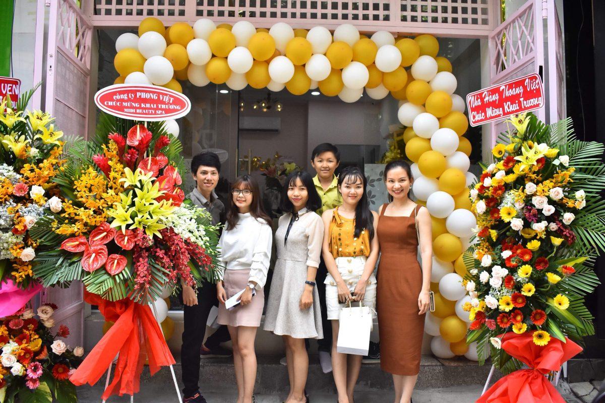 Công ty Phong Việt chúc mừng Viện Tăng Sinh Collagen Midi Khai Trương